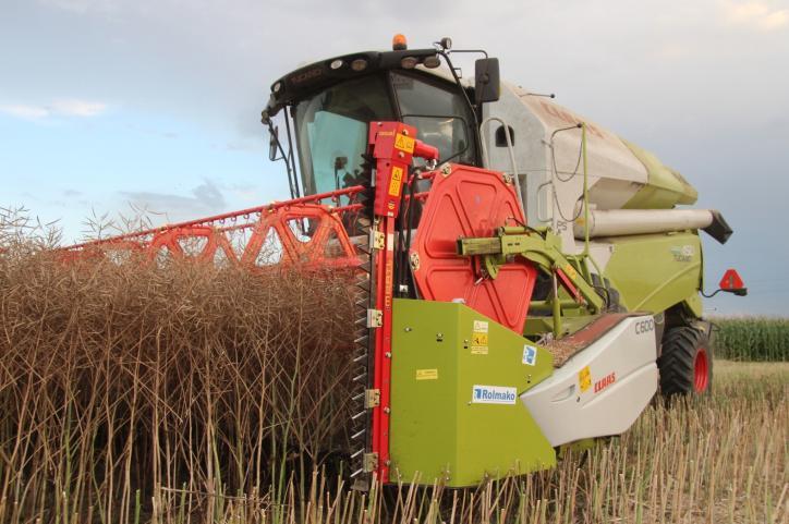 Header Extensions For Rapeseed Harvesting Rolmako